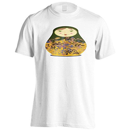Neue Schöne Russische Puppe Herren T-Shirt l520m