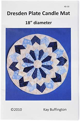 - Quilt Woman.com KB-30 Dresden Plate Candle Mat Pattern