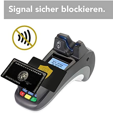 Tarjeta Anti RFID/NFC (2 unidades) - Protege toda la cartera ...