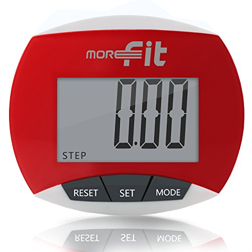 MoreFit Multi-function Walking Pedometer for Step & Distance Counter, Calories Burned, Non-bluetooth Outdoor Portable Sport Pedometer – DiZiSports Store