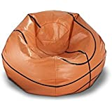Ace Casual 96-inch Vinyl Sports Bean Bag Chair (Basketball)