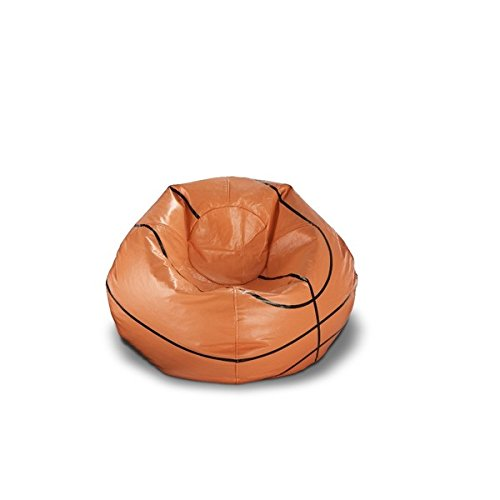 Ace Casual 96-inch Vinyl Sports Bean Bag Chair (Basketball)