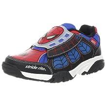 Stride Rite Ultimate Spider-Man Light-Up Sneaker (Little Kid),Red/Blue,3 M US Little Kid