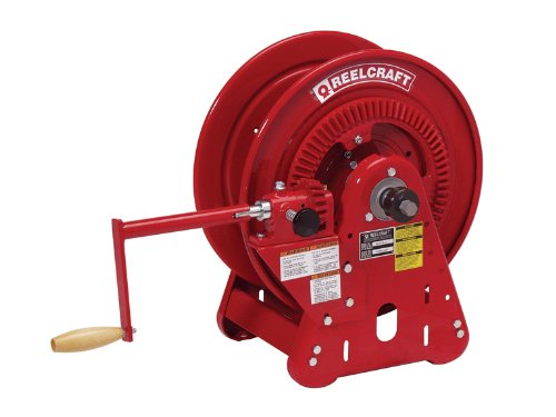 Reelcraft BA36112 L Bevel Crank Gas Welding Hose Reel, 250' Hose Not Included