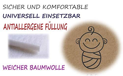 75 x 75 cm super weich 1024 Baumwolle 0-12 Monate Schlafsack SweetDreams Baby Einschlagdecke Blau//Dots Wickeldecke f/ür Neugeborene und Kleinkinder