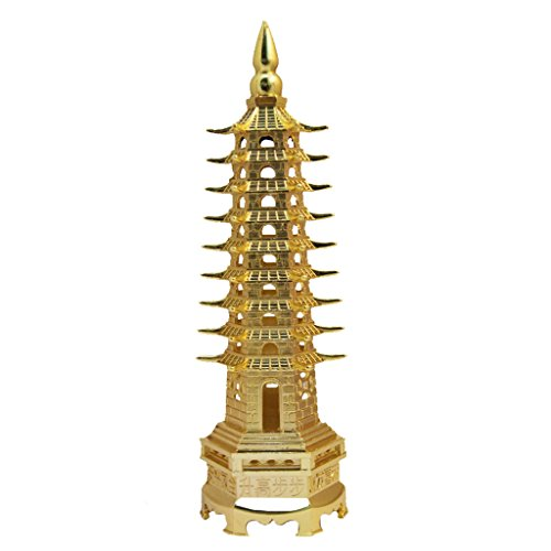 Divya Mantra Feng Shui Education Tower Yellow