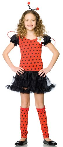 48106 Medium Girls Lady Bug Daisy Costume by Leg Avenue -