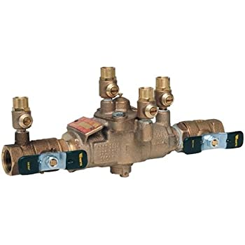 """Watts 3/4"""" 009M3 Backflow Preventer Reduced Pressure Zone Assembly RPZ 3/4 009-QT 0063030 63030"""