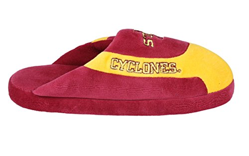 and College Womens Low OFFICIALLY Feet Pro Cyclones Mens Happy LICENSED Iowa NCAA Slippers State EqHB06x