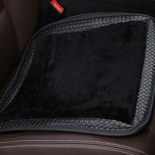 YXZN Car Seat Cushion Winter Plush Warm One Piece Universal Office Seats Cushions,Color1,Size: Sports & Outdoors
