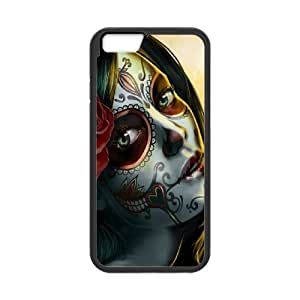 """FLYBAI Day of the dead girls Phone Case For iPhone 6 (4.7"""") [Pattern-1]"""