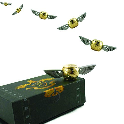 Tornado Golden Orb Fidget Spinner v3 - Exclusive Chest Box Design Only ()