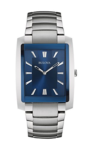 Bulova Men's 96A169 Analog Display Quartz Silver Watch