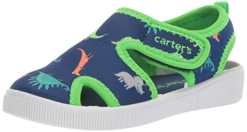 carter's Boys' Troy Water Shoes Fisherman Sandal, Print, 6 M US Toddler