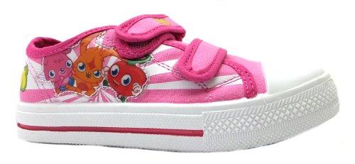 Moshi Monsters  Online, Baskets mode pour fille Rose rose
