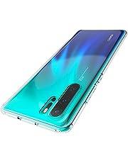Zinuu Huawei P30 Pro Hülle Anti-Fleck Weiches TPU Kratzfest Dünn TPU Schutzhülle Crystal Clear Kameraschutz Slim Durchsichtig Hülle für Huawei P30 Pro