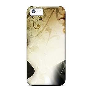 New Style JessieHValdez Hard Case Cover For Iphone 5c- Robert Pattinson Eyes