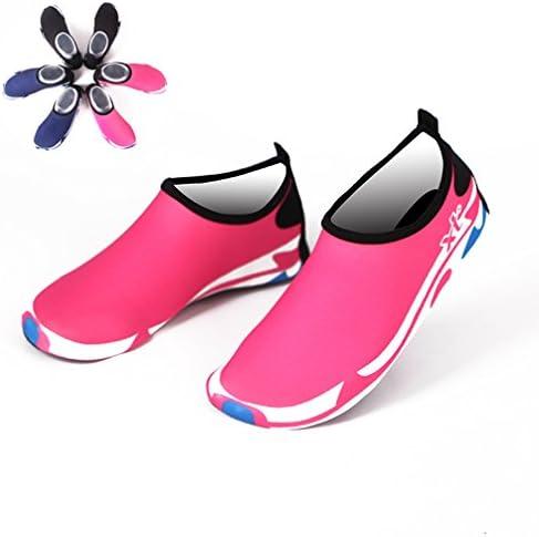 ウォーターシューズ 水陸両用 マリンシューズ アクアシューズ レディース メンズ 柔らかいソール 歩きやすい 滑り止め 通気性 速乾性 耐磨耗 フィットネス 履きやすい シンプル お揃いビーチサンダル 旅行 川遊び ヨガ 黒 ピンク