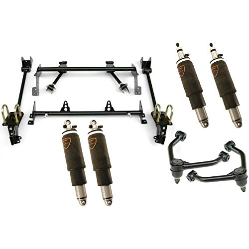 NEW RIDETECH AIR SUSPENSION SYSTEM,HQ SERIES SHOCKWAVES,UPPER STRONGARMS,BOLT-ON 4-LINK,COMPATIBLE WITH 1968-1970 MOPAR B-BODY PLYMOUTH BELVEDERE,GTX,ROAD RUNNER,SATELLITE,DODGE CORONET, CHARGER
