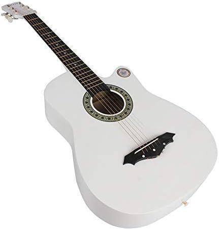 ギター アコースティックギターのために大人の初心者の38インチのアコースティックギター プレーヤーに使用できます (Color : A, Size : 41 inches)