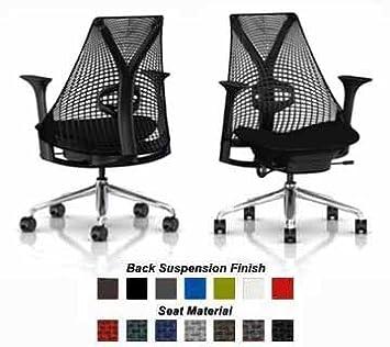 Amazon.com: Herman Miller sayl silla Home Silla de oficina ...