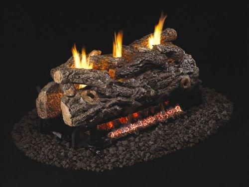 G9 Series Vent Free Golden Oak Designer See-Thru Logs - 24 inch