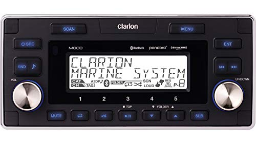 Clarion M608 Stereo Vehicle Speakers