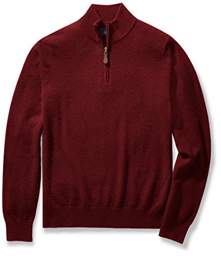 Quarter Zip Cashmere Sweater - 1