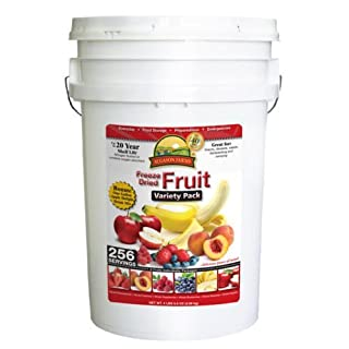 Augason Farms' Freeze Dried Fruit Variety Pack (B00I1STPEA) | Amazon price tracker / tracking, Amazon price history charts, Amazon price watches, Amazon price drop alerts