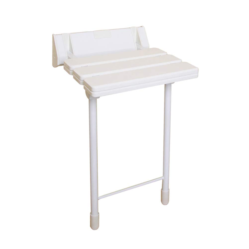 【セール 登場から人気沸騰】 LFF- LFF- 調節可能な折りたたみ式の壁に取り付けられたベンチのバスタブのスツールの座席ホワイト折り畳み式のシャワースツブのチェア B07GGY2RF4, サクラ楽器:2cd5e576 --- efichas.com.br
