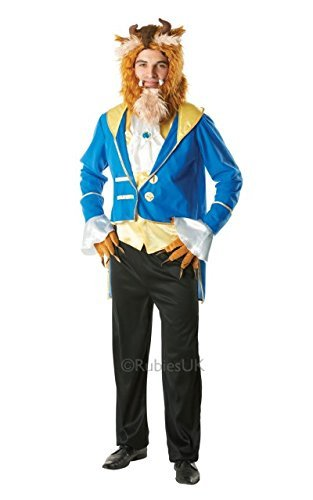 Costumi Halloween Adulti.Rubie S Costume Carnevale Halloween Travestimento La Bestia Disney Film Adulto