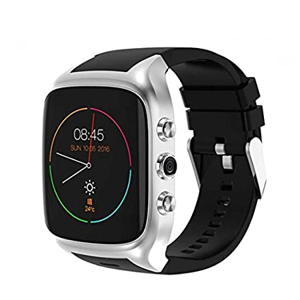 Amazon.com: TORTOYO X02S Smart Watch Phone Android 5.1 OS ...