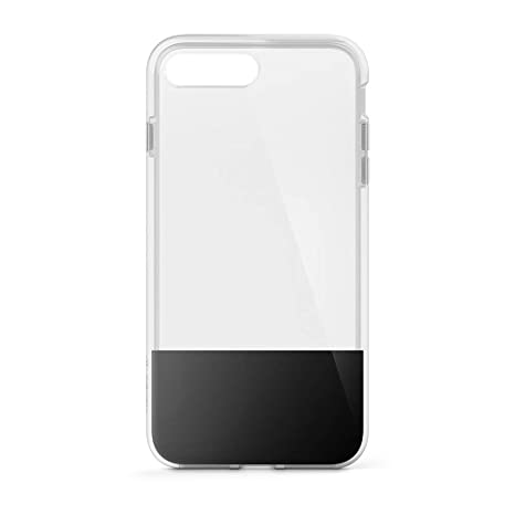 c7d3010cbb Belkin SheerForce Protective Case for iPhone 8 Plus/7 Plus (TPU, Drop  Protection, Full Port Access) - Black: Amazon.co.uk: Electronics