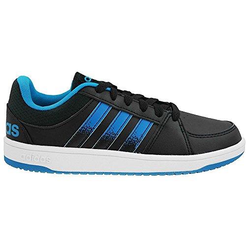 Adidas - Hoops VS K - F98540 - Farbe: Blau-Schwarz-Weiß - Größe: 28.0