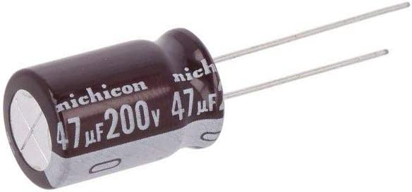 electrolytic THT 47uF 200VDC /Ø12.5x20mm Pitch 2X UCA2D470MHD1TO Capacitor 5mm