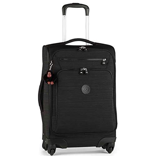 Kipling YOURI Spin 55 Dazz Black Small Wheeled Luggage (Kipling Handbags On Sale)