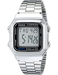 Men's A178WA-1A Silver Stainless-Steel Quartz Watch with...