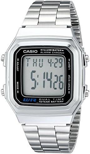 Casio Men's A178WA-1A Illuminator Watch