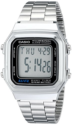 Casio Mens A178WA 1A Illuminator Watch product image