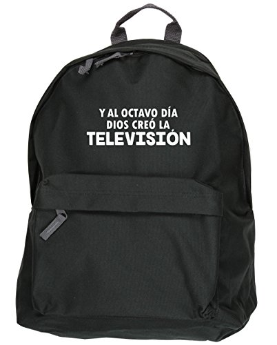 Hippowarehouse The Eighth Day God Created Television Backpack Kit Dimensions: 31 X 42 X 21 Cm Capacity: 18 Liters