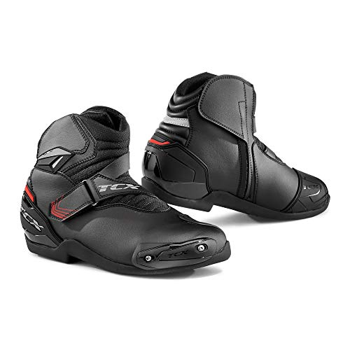 TCX Men's Roadster 2 Street Motorcycle Boots - Black Size 44