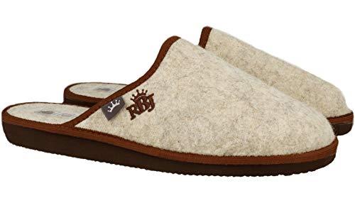 Zapatillas Lana Casa Marrón Handmade Transpirables Hombre Calidad Calientes Natural 902a Fieltro De Para Bienestar qqZ5wxW7Sr