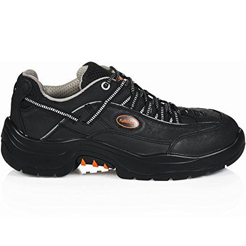 ruNNex 5206-44 Chaussures de sécurité Teamstar S2 Taille 44 Noir/Gris