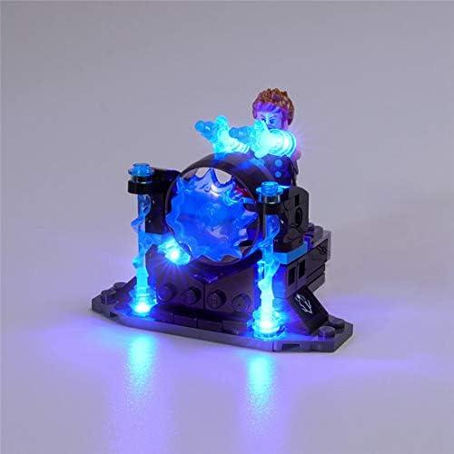 LED-verlichtingsset voor Lego Marvel Avengers Thor's Weapon Quest - Kleurrijke verlichting compatibel met Lego 76102 bouwstenen model, exclusief model