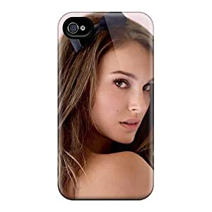 Protective Cases With Fashion Design For Iphone 6 (natalie Portman Long Hair)