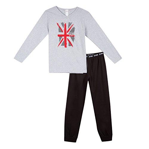 Boy's Night Dim Black Pieces Pajama Set 2 02 nero rzZcZgStv