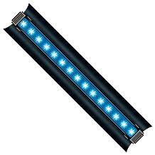 WavePoint 15-watt Super Blue Photon Energy LED High Output Light Strip for Aquarium, 18-Inch