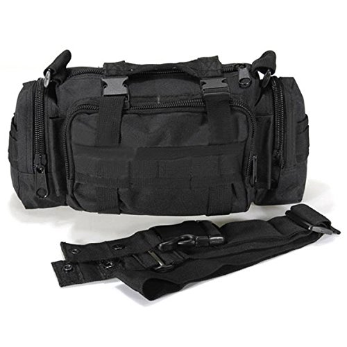 Tanchen Expanding File Pocket Soft Canvas Handle Portfolio Multifunctional Storage Bag (Black) 4336939490