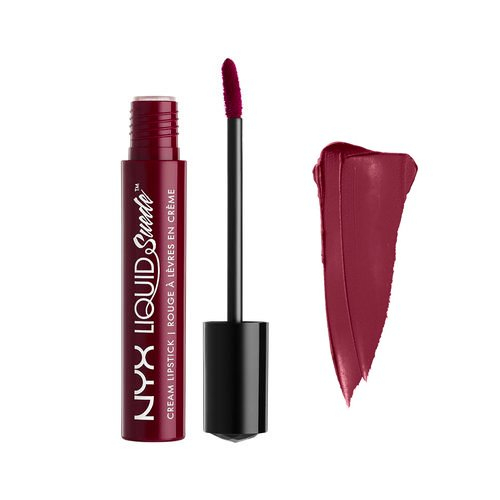 NYX PROFESSIONAL MAKEUP Liquid Suede Cream Lipstick, Vintage, 0.13 Fluid Ounce