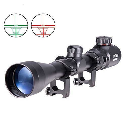 Read About Pinty 3-9X40 Red Green Rangefinder Illuminated Optical Sniper Rifle Telescopic Scope